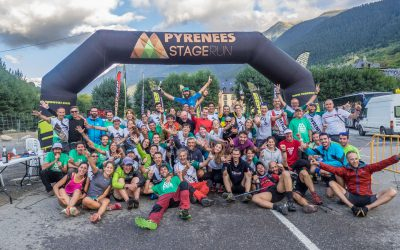 Pyrenees Stage Run, first edition of a real adventure through the Pyrenees