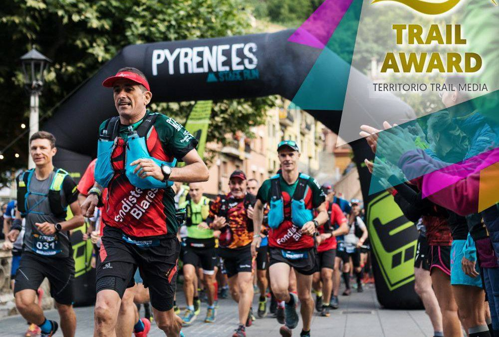 Third consecutive nomination to the Trail Awards by Territorio Trail Media