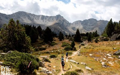 Halfway point for the Pyrenees Stage Run with the shortest stage in Andorra